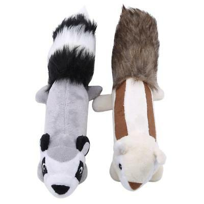 Pet Dog Puppy Plush Shake Squeak Vocal Exercise Interactive Toy Squeaker Y