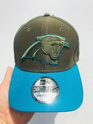 more photos cd1ca e8636 ... reduced new era carolina panthers 39thirty nfl 2017 salute to service sideline  hat l xl 25b1c