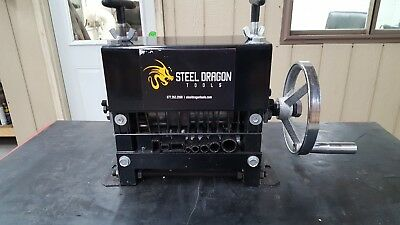 Steel Dragon Tools® WRM33 Manual Wire Stripping Machine Strip Scrap Copper Wire