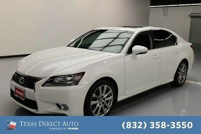 2015 Lexus GS 4dr Sedan Texas Direct Auto 2015 4dr Sedan Used 3.5L V6 24V Automatic RWD Sedan Premium