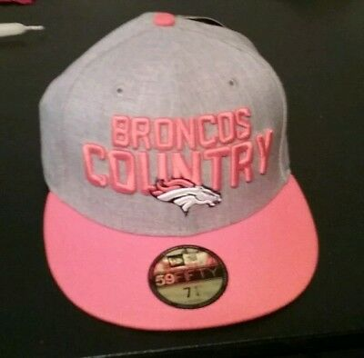 4a0a2e72 Denver Broncos Nfl New Era Official Draft On Stage 59Fifty Fitted Hat Cap 7  1/