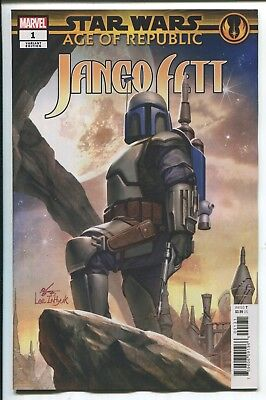 Star Wars: Age Of Republic - Jango Fett #1 In-Huyk Lee Variant Cover - 2019