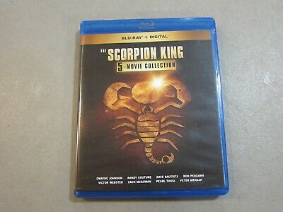 The Scorpion King 5 Movie Collection (Blu-ray) NO DIGITAL -VERY GOOD- SHIPS FREE