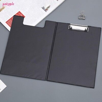 A4 Clipboard Fold Over Clip board Writing Office Document Holder Pad Hard Filing