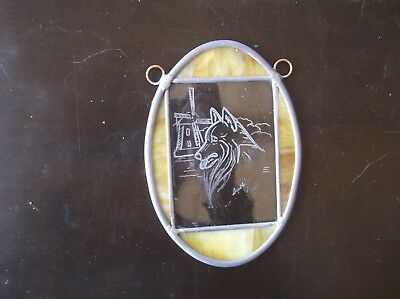 Belgian Sheepdog - Beautifully Hand engraved Ornament by Ingrid Jonsson.