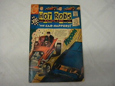 vintage Comic book, Charlton comic hotrods Dec. 1967 v.1 #88