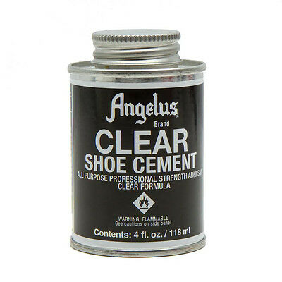 Angelus Clear Shoe Cement in 4oz