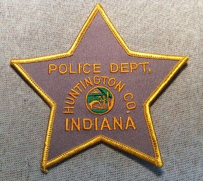IN Huntington County Indiana Police Patch