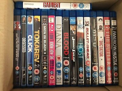 17 Titles Blu-Ray Dvd Collection In Excellent Condition Watched Once Only