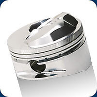 212145 SRP Pistons Open Chamber Small Dome 475 BB Chevy 4.350 Bore 10.5:1 Comp