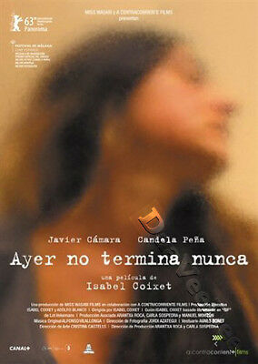 Yesterday Never Ends NEW PAL Arthouse DVD I. Coixet J. Cámara C. Peña Spain