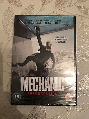 Mechanic Ressurection DVD - New and Sealed Fast and Free Delivery