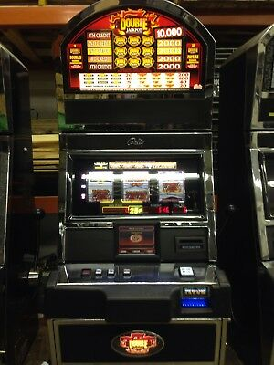 Bally Alpha Blazing 7's Double Jackpot SLOT MACHINE With Free Play