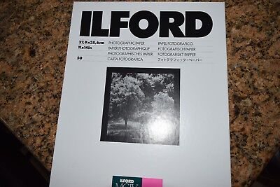 NEW Ilford MGIV RC Deluxe Glossy 11x14 50 sheets photo paper photography