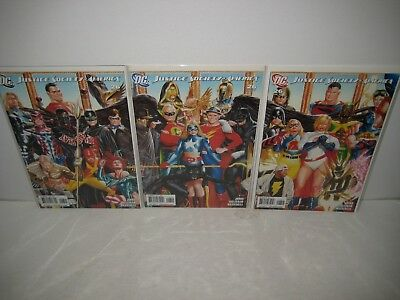 Justice Society of America Vol. 3 #26 (COMPLETE Ross Cover Set; Geoff Johns)
