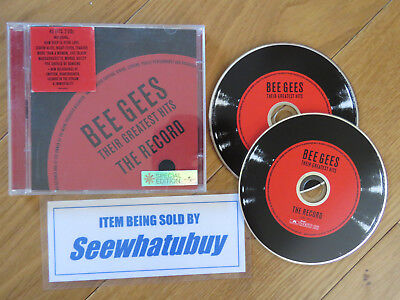 Bee Gees: Their Greatest Hits: The Record – 2 Cd Set, Best Of, 42 Tracks