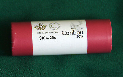 2017 CANADA Classic design 25 cent roll special wrap: extra rolls + SH $1.99