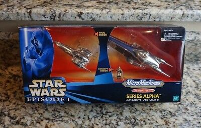 Royal Starship 1999 STAR WARS Micro Machines Action Fleet Series Alpha Concept