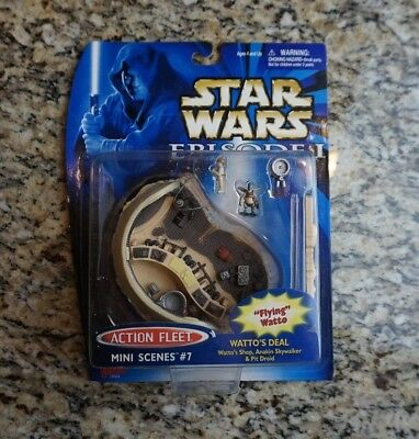 Watto's Deal 1999 STAR WARS Micro Machines Action Fleet Mini Scenes #7