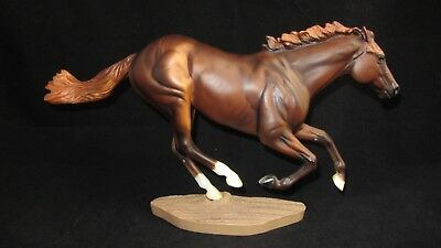 Breyer Traditional Model Horse Smarty Jones 586 1:9 Scale With Base