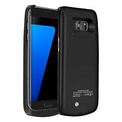 External Power Pack Bank Battery Charger Case For Samsung Galaxy S6 S7 Edge +