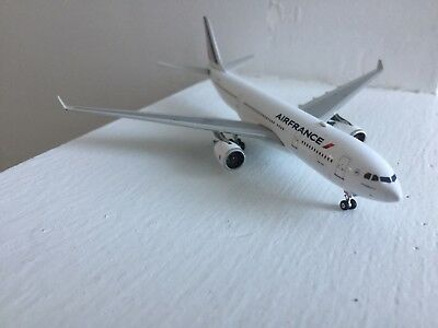 Air France Airbus A330-200 F-GZCL Diecast 1/400 Jet Model