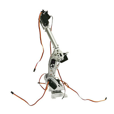 7DOF Mechanical Robot Arm Claw + Servos For Robotics Arduino
