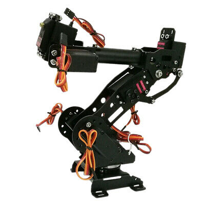 7DOF Mechanical Robot Arm Claw & Servos For Robotics Arduino