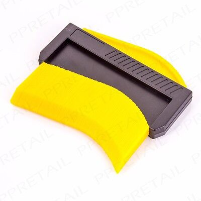 DEEP CONTOUR GAUGE Skirting/Pipe Measuring Guide Floor/Wall Cutting Layout Tool