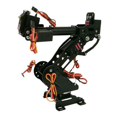 7 DOF Mechanical Robot Arm Claw with Servos for Robotics Arduino Kit
