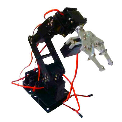 S6 6DOF Mechanical Robot Arm Claw with Servos for Robot + WiFi control kit