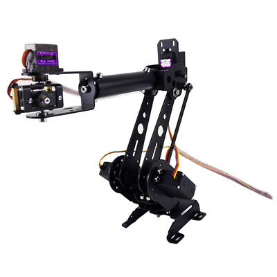 S6 6DOF Mechanical Robot Arm Claw with Servos for Robotics Arduino Kit