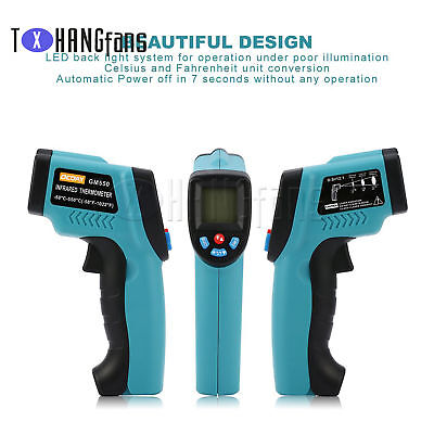 GM320/GM550/DT-8809CC Digital Infrared Thermometer IR Baby Body Surface ATF