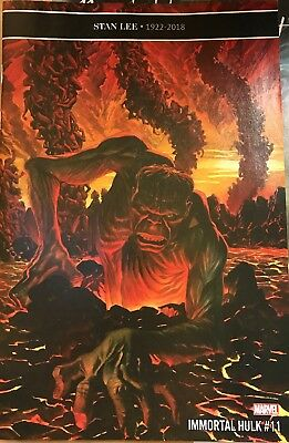 The Immortal Hulk #11. Stan Lee Memorial Issue. 1St Print Free Postage