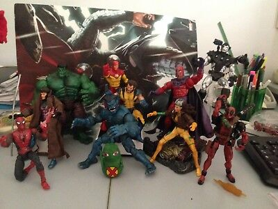 Marvel Legends action figure X-Men Avengers war Spiderman Ironman NO DC Bandai