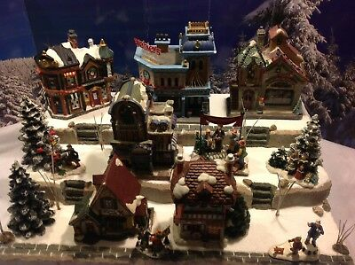Christmas Village Display.Christmas Village Display Base Platform For Dept 56 Lemax Dickens Snow Village