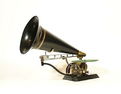 Mint 1905 Columbia AU Skeletal Phonograph * No Repro Parts * Superb Restoration
