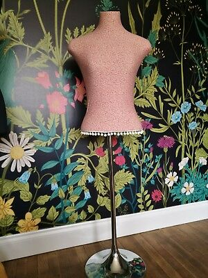 Unusual Dressmakers/Taylors Dummy - Shop Display Mannequin with metal stand
