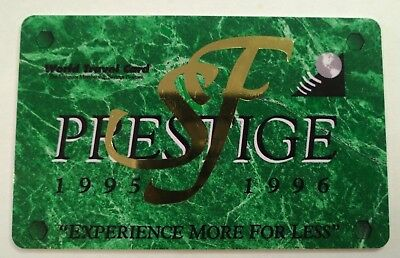 S F Prestige Phone Card Vintage Collectible                                 (WW)