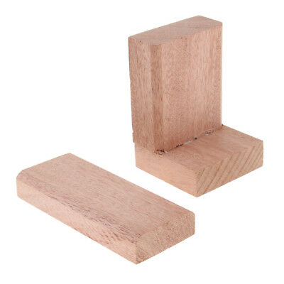 2pcs Wood Guitar Body Block Luthiers Tool for Cutway Guitar