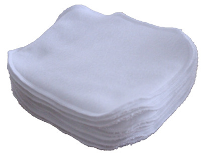 Reusable Washable Double Layer Terry Cotton/ Fleece Baby Makeup Hand Wipes