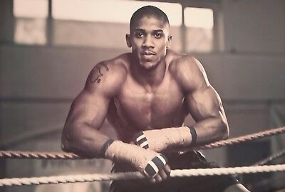 Anthony Joshua Boxer Boxing A4 Poster Picture Print A4 Wall Art