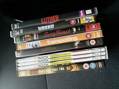 A Selection Of DVDs - DVD Bundle.