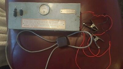 Rare Vintage Astor Ajax Zoom Car Battery Charger Empire Made Model 380 6 12 Volt