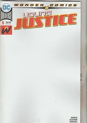 Dc Comics Young Justice #1 March 2019 Blank Variant 1St Print Nm