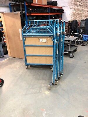 Wheeled Cage Trolley Cart - Towable