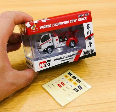 1/76 TINY DIE-CAST 103 - Hino300 World Champion Tow Truck Special Edition