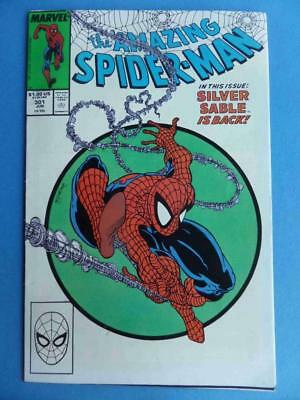 Amazing Spider-Man 301 1988 Mcfarlane Classic Cover! Vf