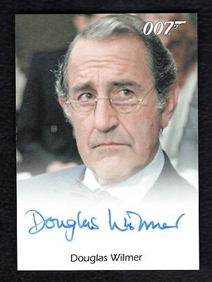 James Bond Archives Full Bleed Autograph Douglas Wilmer Octopussy LIMITED