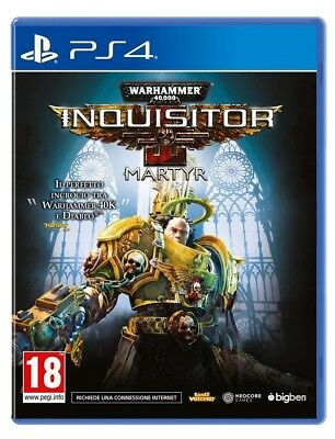 Warhammer 40,000 Inquisitor - Martyr - Deluxe Edition Ps4 Gioco Play Station 4